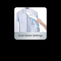 Dual Steam Settings