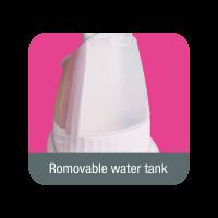 Detachable & Transparent Water Tank