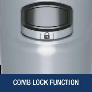 Comb Lock Function