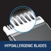 Hypoallergenic blades
