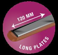 2.5 cm x 12 cm (25 x 120) mm Long Plates