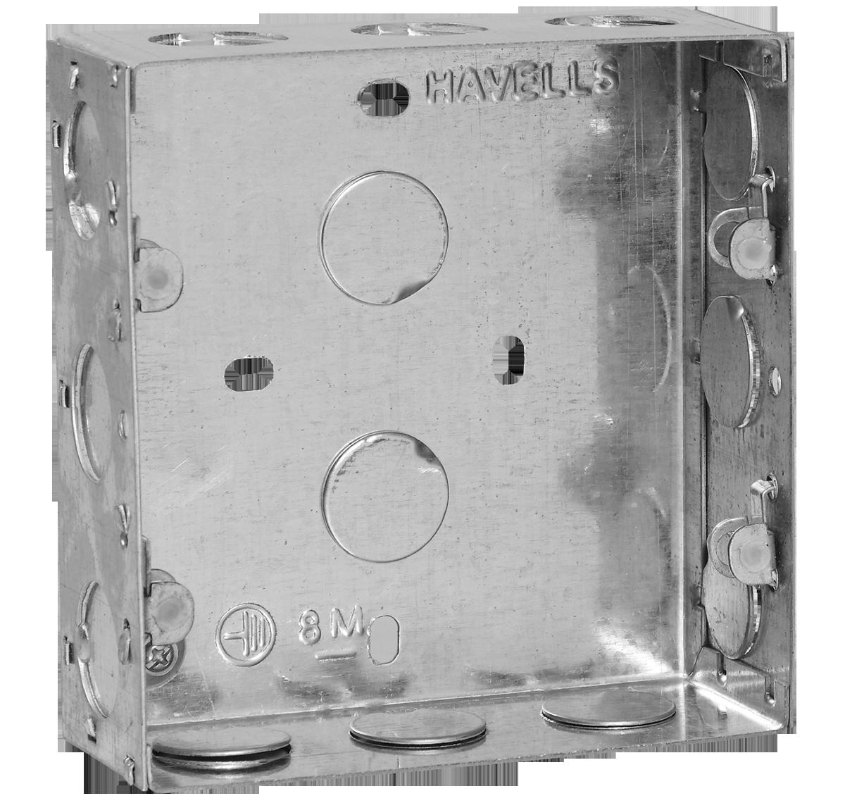 Metal Boxes Online Flush Box Havells India Wiring Back 8 M