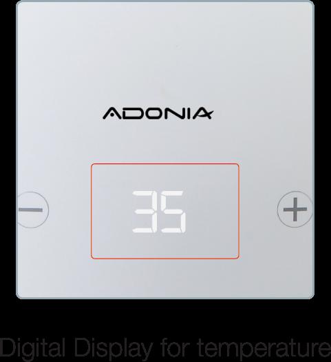 Adonia R 25 L (White)